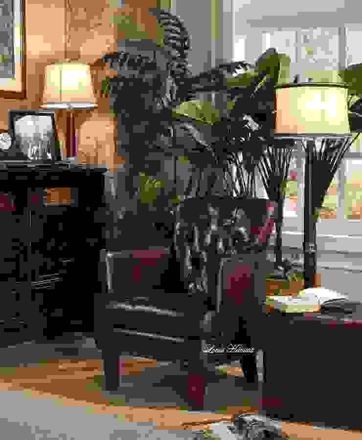 Classic Leather Armchair from Locus Habitat: classic  by Locus Habitat,Classic