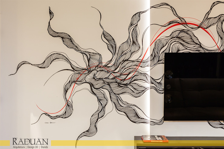 Raduan Arquitetura e Interiores: modern tarz , Modern