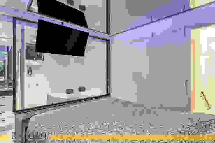 Modern Yatak Odası Raduan Arquitetura e Interiores Modern
