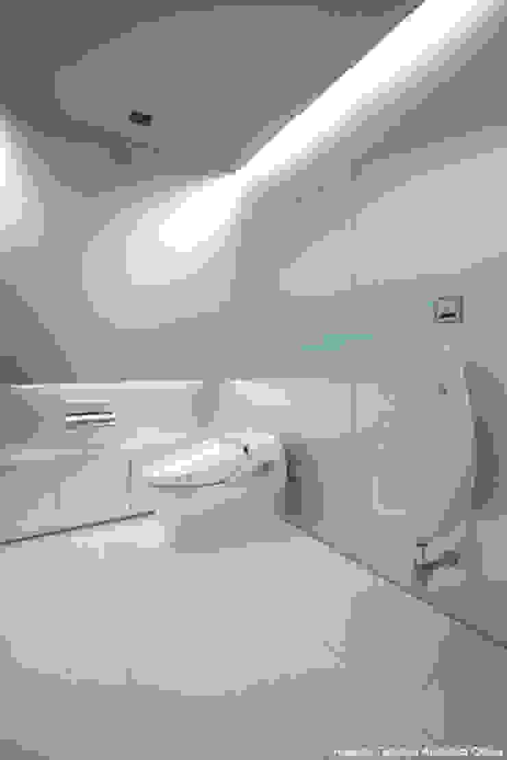 鷹取久アーキテクトオフィス Minimalist style bathroom