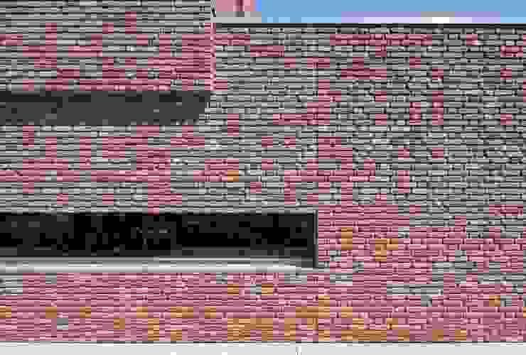detail zijgevel Minimalistische huizen van Joris Verhoeven Architectuur Minimalistisch
