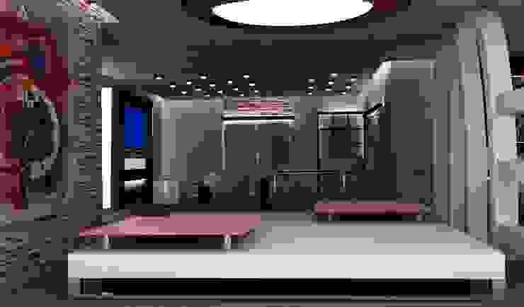 MAHAL MİMARLIK / MAHAL ARCHITECTS – İÇ MEKAN OFİS TASARIMLARI: modern tarz , Modern