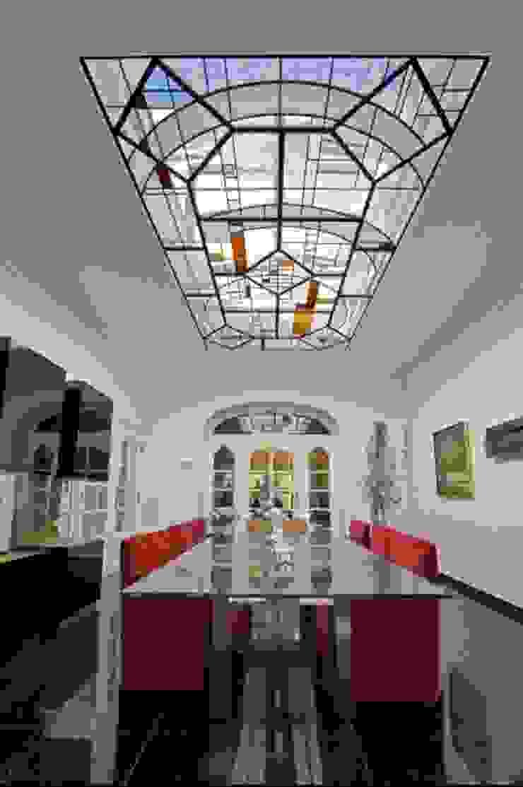 Modern art glas voor oud herehuis: modern  door artglas, Modern