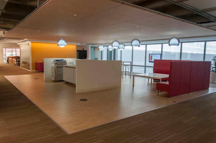 Siemens Corporate Modern study/office by Serrano Monjaraz Arquitectos Modern