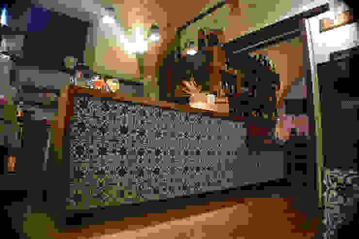 il bancone Gastronomia in stile rurale di Casaburi & Memoli Architetti Rurale