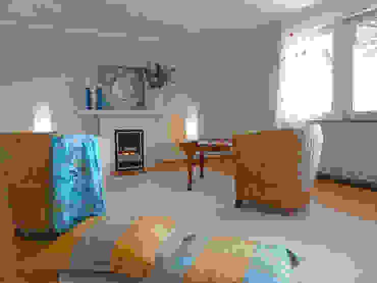 Wohnzimmer nach Home Staging von Szeena Homestaging Landhaus