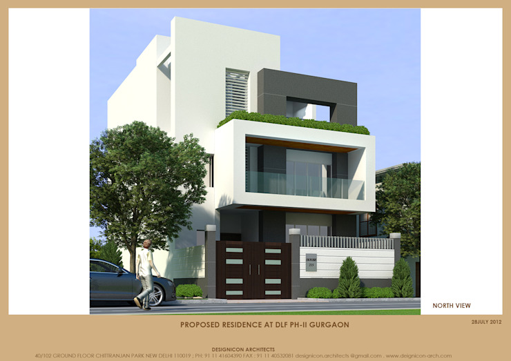 House in Gurgaon India: modern  by Design Icon,Modern