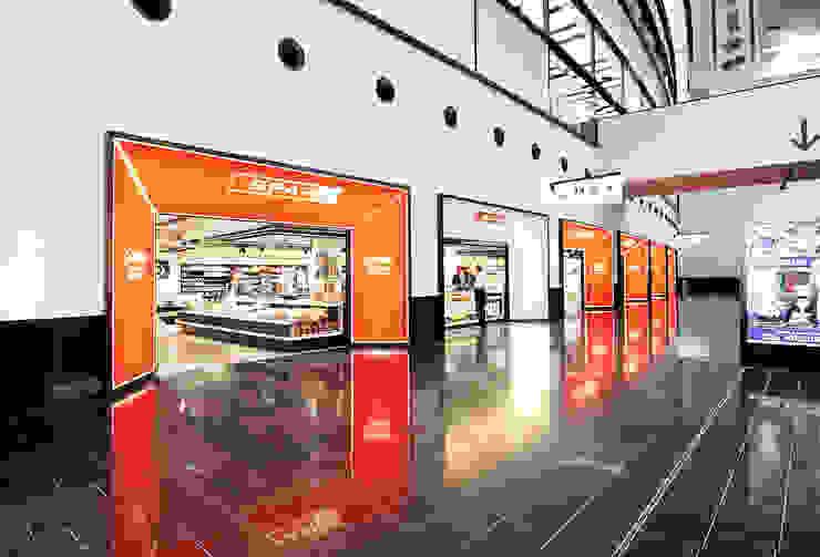 Spar Fulghafen Wien Moderne Geschäftsräume & Stores von chociwski architekten ZT - GMBH Modern