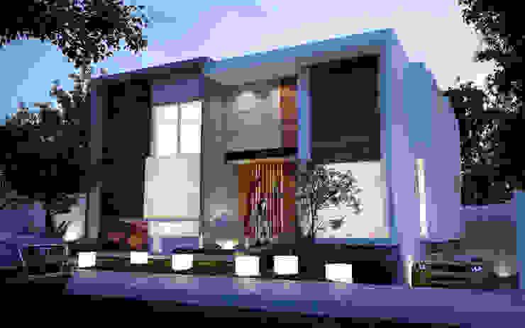 ALONSO ARQUITECTOS Maisons minimalistes