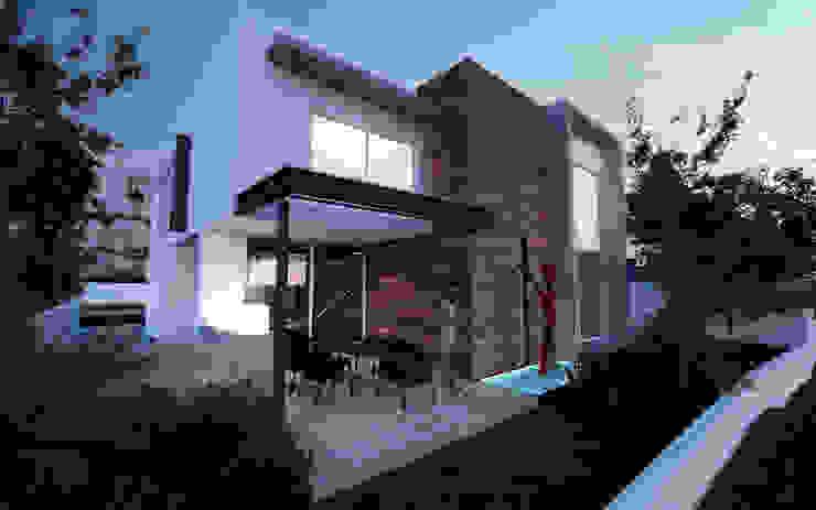 CASA MADEIRA Casas minimalistas de ALONSO ARQUITECTOS Minimalista
