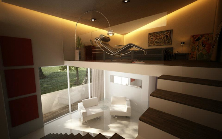 ALONSO ARQUITECTOS Modern style bedroom