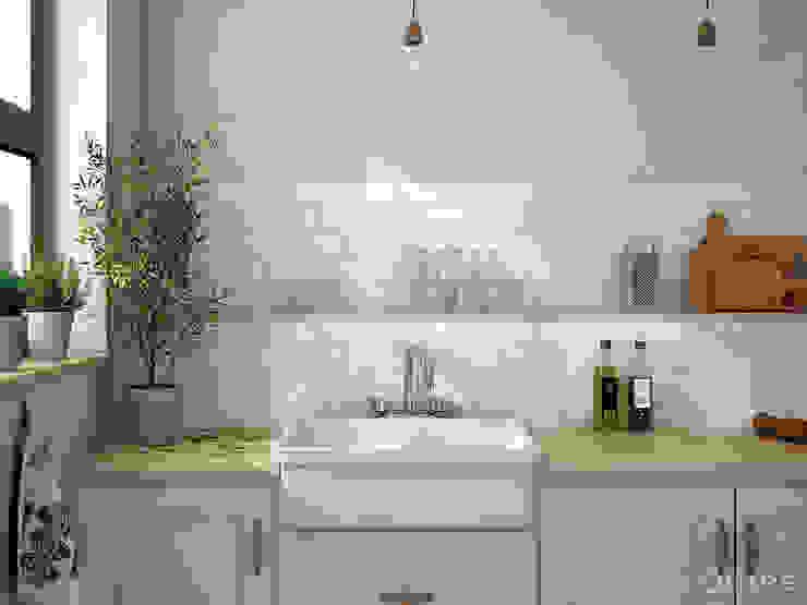Kitchen by Equipe Ceramicas, Rustic Ceramic