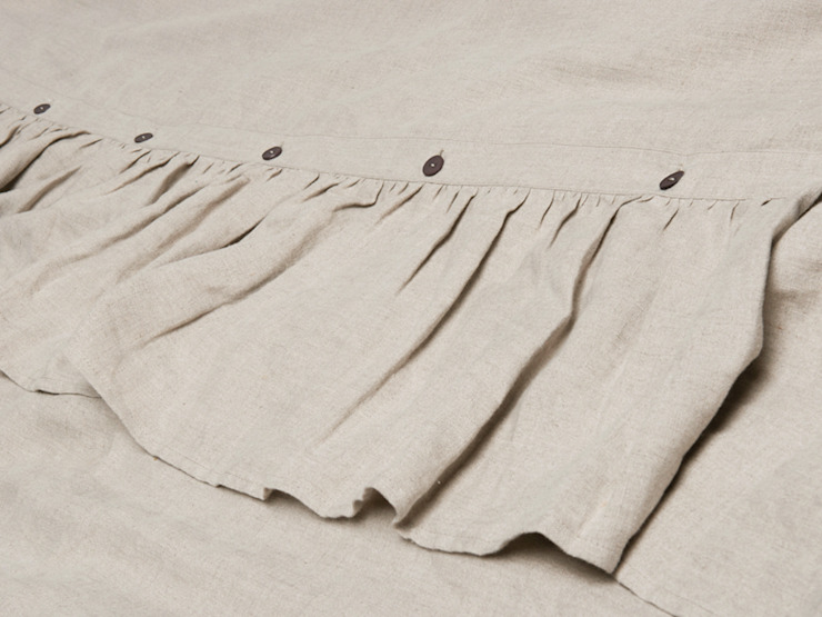 VINTAGE soft linen bedding and accessories : classic  by LOVELY HOME IDEA, Classic