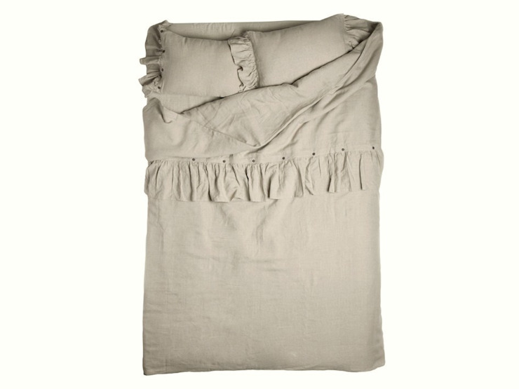 VINTAGE soft linen bedding and accessories de LOVELY HOME IDEA Clásico