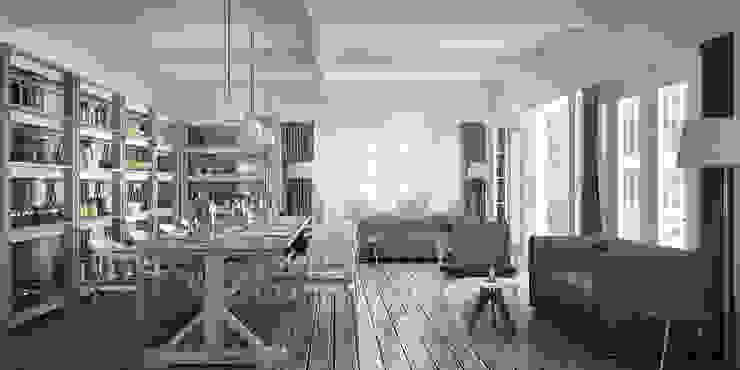 Rocas D Modern dining room by vmavi Modern