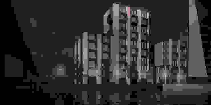 Zijkanaal D Modern houses by vmavi Modern