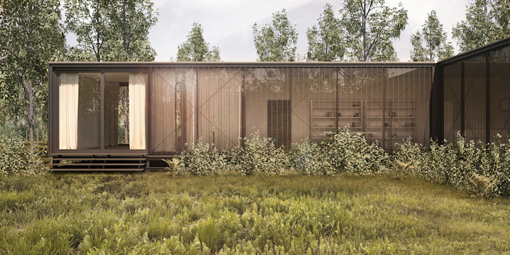 Forrest House Minimalist houses by vmavi Minimalist