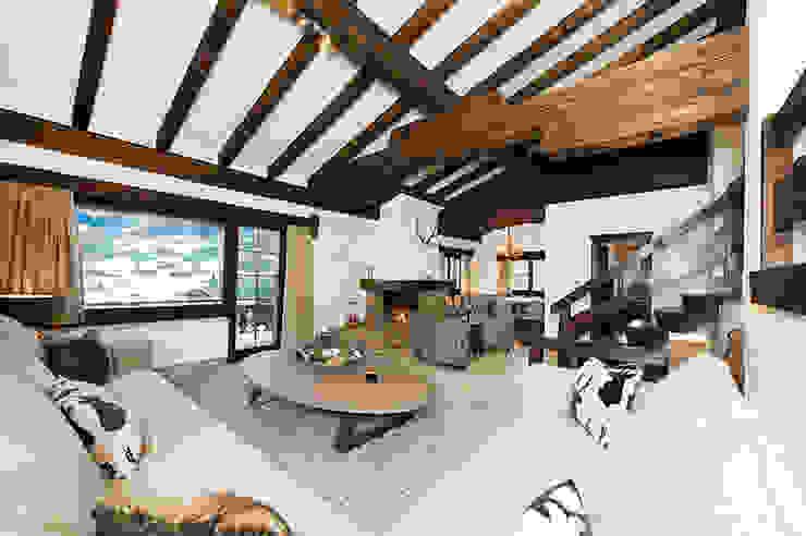 Martinuzzi Interiors Interior Design & Renovations Casas de estilo rústico