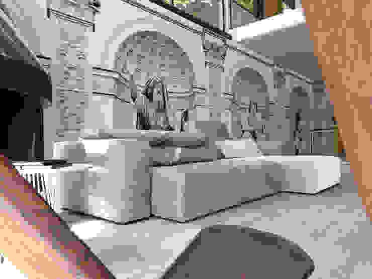 Moderne woonkamers van Londonart Modern