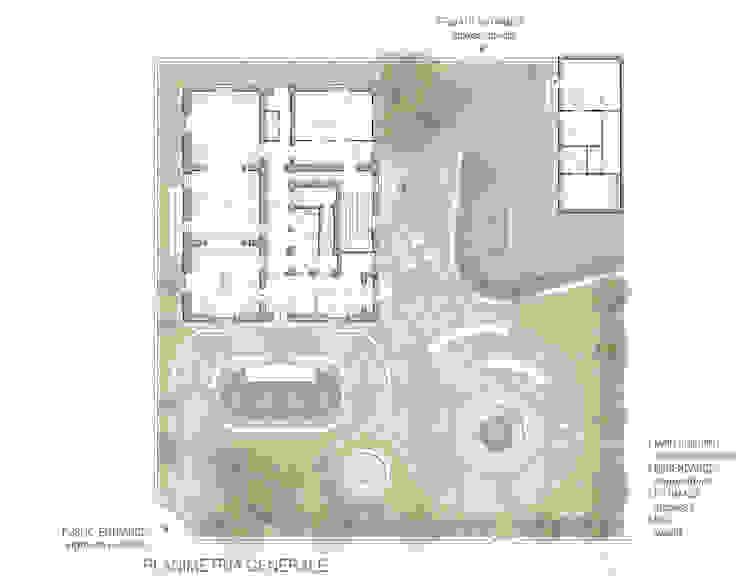 MUSEO E RESIDENZA PRIVATA Case classiche di Studio*Rauco_Architettura Ingegneria Classico