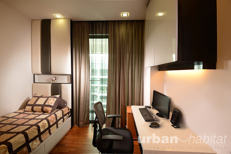 Kovan Residence Living room by urban habitat