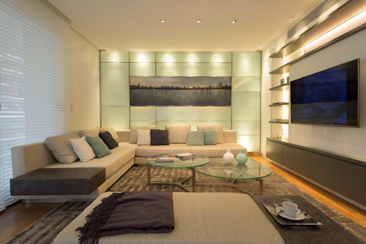 Living room by LIVE IN, Modern