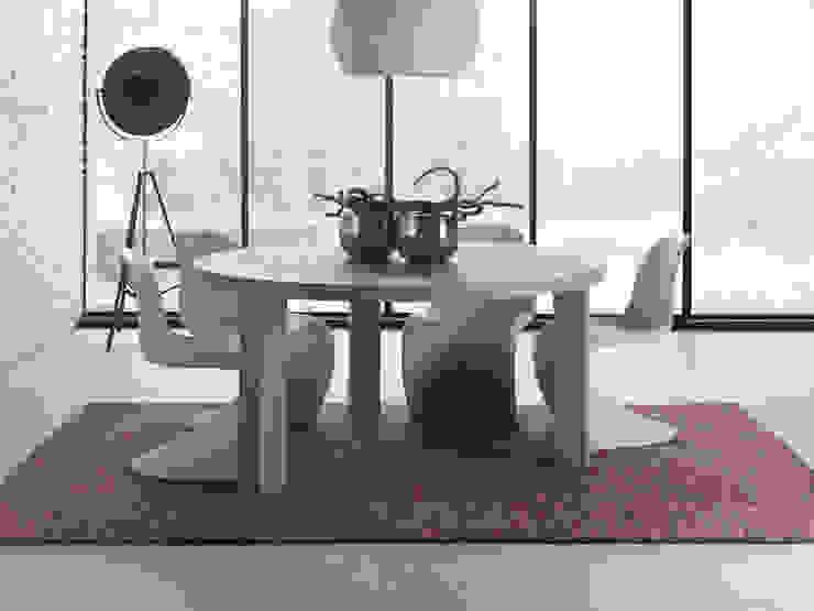 Table Concept ronde par Neo Cocoon Moderne