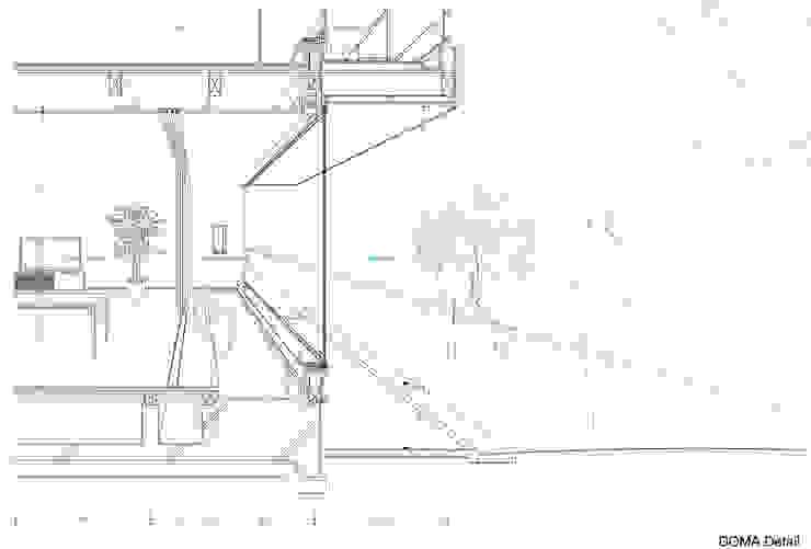 中野南台の家 The house of Nakano wooden fire-resistance: 荻原雅史建築設計事務所 / Masashi Ogihara Architect & Associatesが手掛けた折衷的なです。,オリジナル
