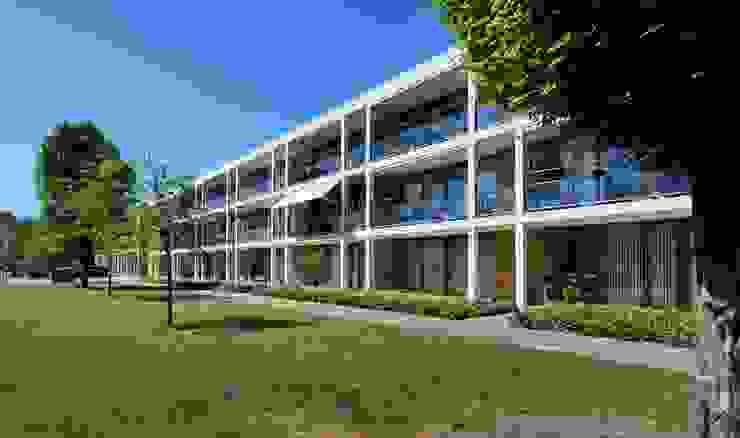 Meerkoetstraat Zwijndrecht Moderne huizen van HVE Architecten bv Modern