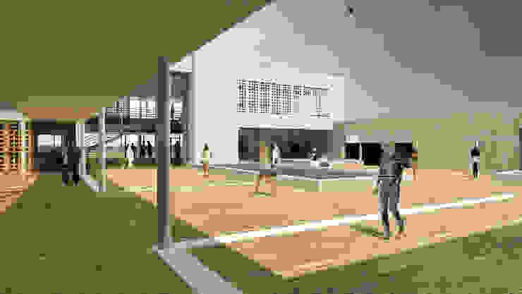 Oscars Scheveningen Moderne gastronomie van HVE Architecten bv Modern