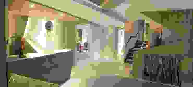 HOTEL RURAL <q>LAS TREIXAS</q> Casas de estilo rústico de FANSTUDIO__Architecture & Design Rústico