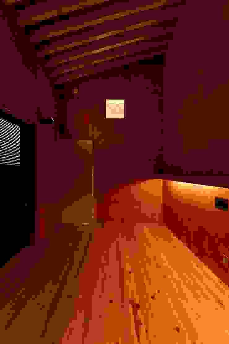 Modern style bedroom by 株式会社長野聖二建築設計處 Modern