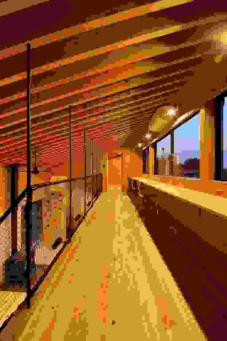 Modern style study/office by 株式会社長野聖二建築設計處 Modern