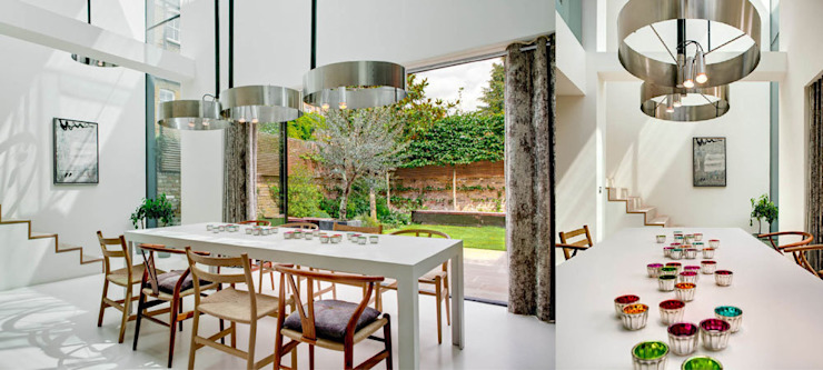 Souldern road Salle à manger moderne par Dos Architects Moderne