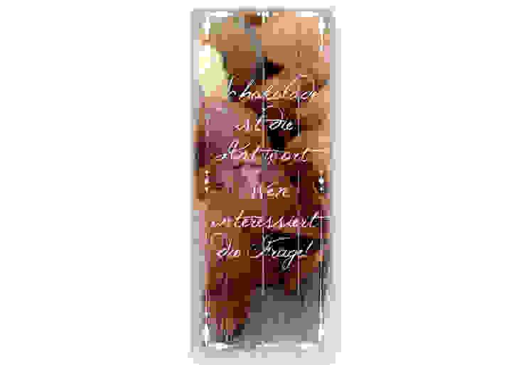 Panorama-Holzschild Schokolade ist die Antowrt von K&L Wall Art Ausgefallen