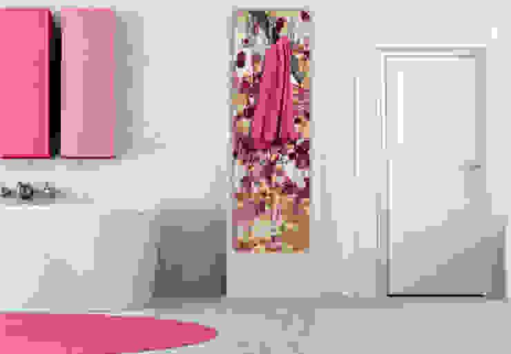 Garderobe Vintage Blütenmuster von K&L Wall Art Ausgefallen