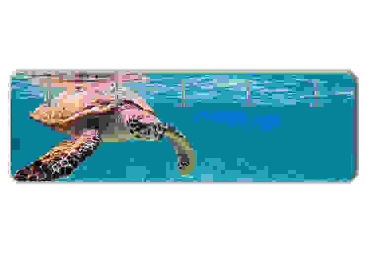Garderobe Schildkröte auf Reisen von K&L Wall Art Ausgefallen