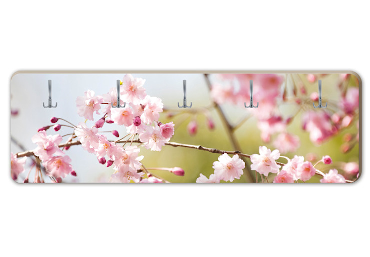 Garderobe Cherry Blossoms von K&L Wall Art Ausgefallen