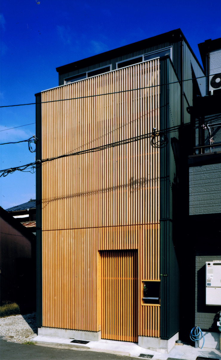 Houses by 真島元之建築設計事務所 Majima Motoyuki Architect