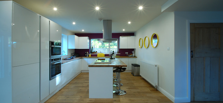 New Kitchen Layout by CJA Architecture