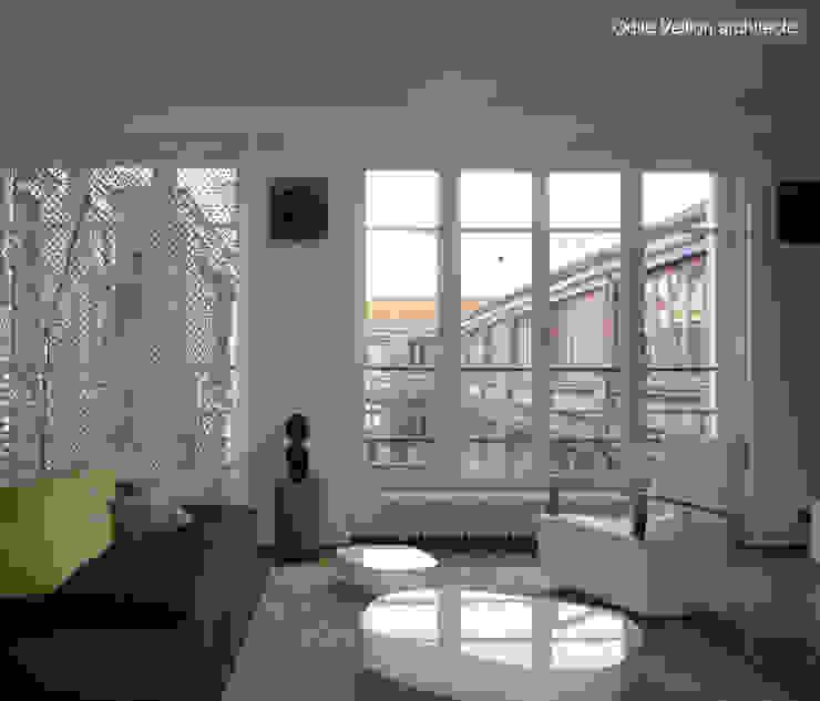 LOFT R—PARIS XI by Agence d'architecture Odile Veillon / ARCHI-V.O Industrial