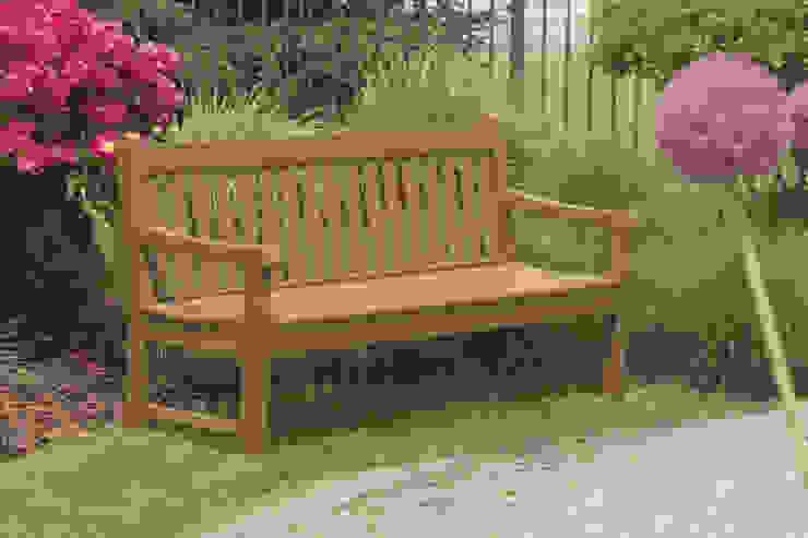 CASA BRUNO banco de jardín Rockford en color teka Casa Bruno American Home Decor JardinesMuebles