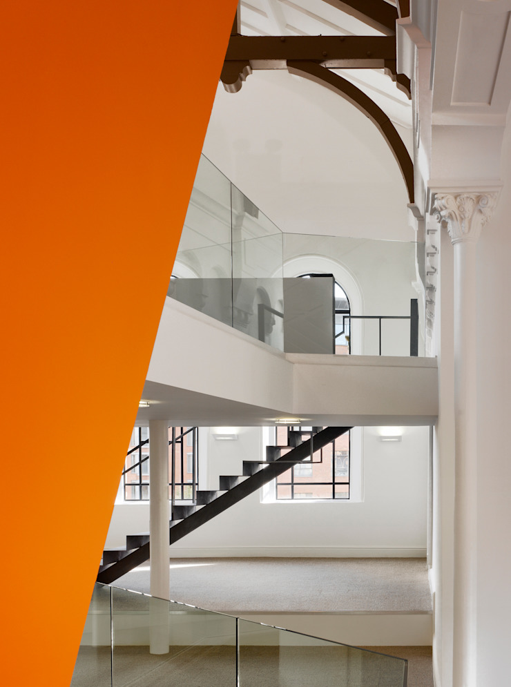 Artingstalls Chapel Modern office buildings by OMI Architects Modern