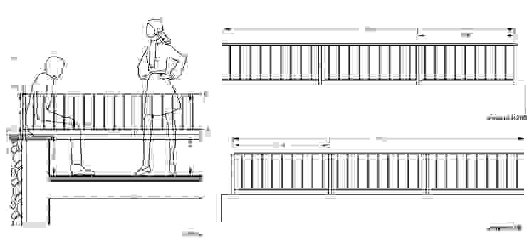 Casale GJ Balcone, Veranda & Terrazza di Laura Pistoia Architetto