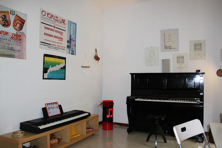 Sala Pianoforte Dopo di Belladomus S.r.l. Moderno
