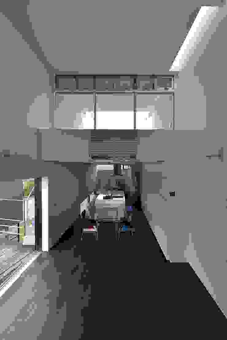 MO-HOUSE モダンデザインの ダイニング の 株式会社長野聖二建築設計處 モダン