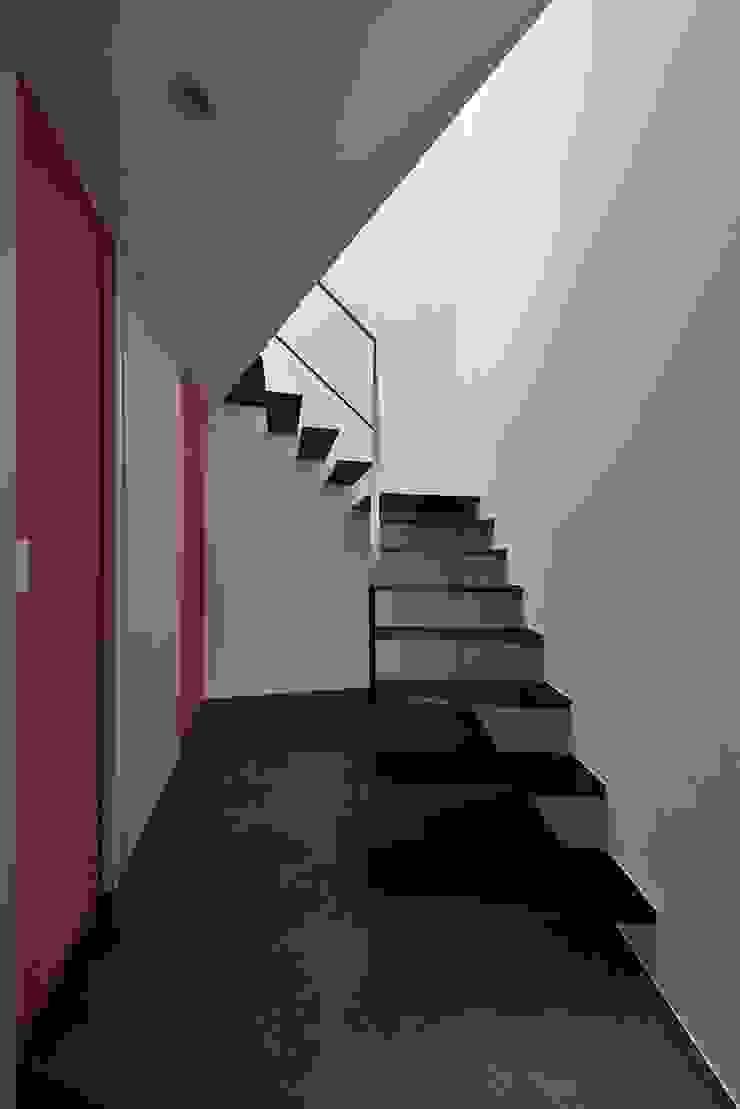 MO-HOUSE モダンスタイルの 玄関&廊下&階段 の 株式会社長野聖二建築設計處 モダン