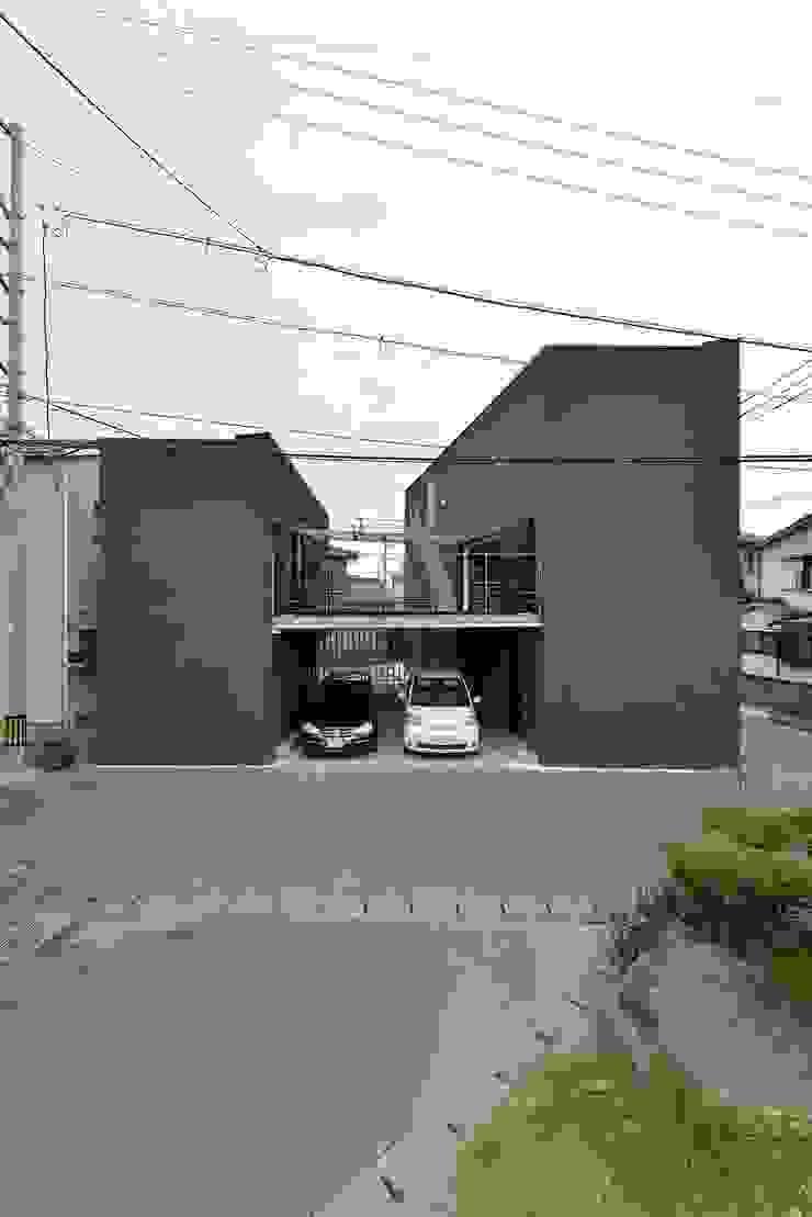 MO-HOUSE モダンな 家 の 株式会社長野聖二建築設計處 モダン