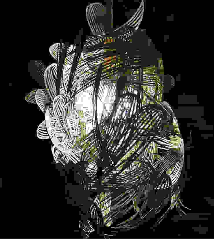 PLUME ⎢Lustre par Siryane Robillot Minimaliste