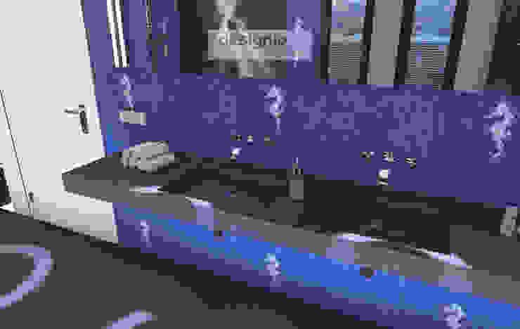 Starke Akzente – das Bad darf ruhig etwas laut werden Klassische Badezimmer von Art of Bath Klassisch